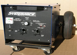 electric pipe thawing machine